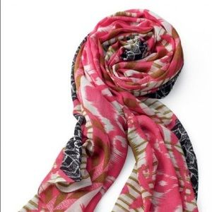 Stella & Dot pink Union Square scarf